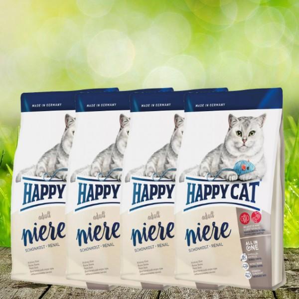 Happy Cat Schonkost Niere Renal 4 x 1,4 kg