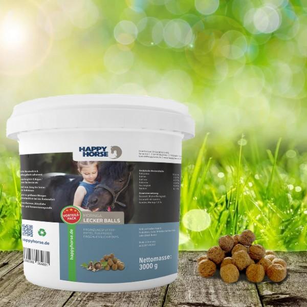 Happy Horse Lecker Balls Moringa 3 kg - für Pferde und Hunde