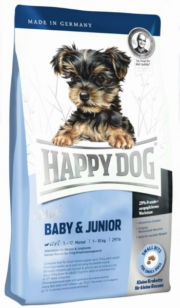Happy Dog Supreme Mini Baby und Junior