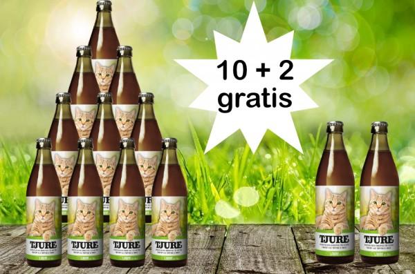 TJURE für Katze - Lamm & Reis 10 + 2 GRATIS