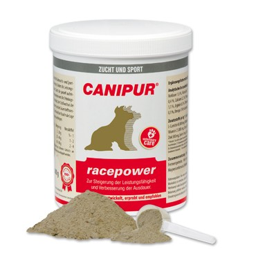 Canipur racepower + 400g Happy Dog Pur Dose *Gratis*