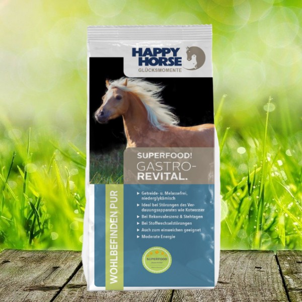"""Happy Horse Superfood """"Gastro Revital"""" 14 kg"""