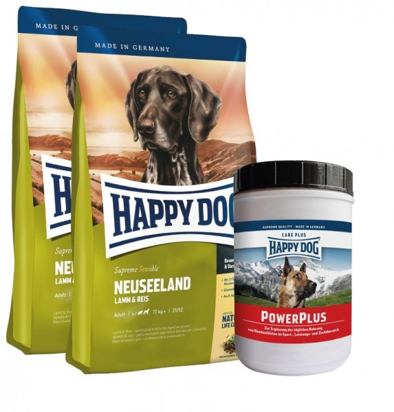 Happy Dog Supreme Neuseeland + Happy Dog Power Plus