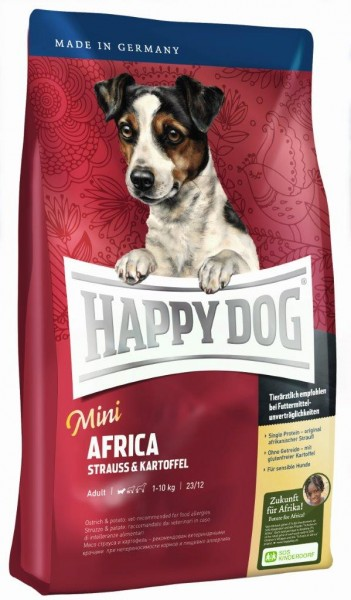 Happy Dog Mini Africa 4 kg + 1 kg *Gratis*