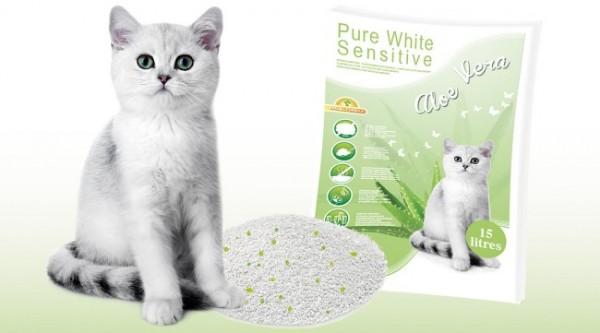 Happy Cat Sensitive Grainfree in verschiedenen Sorten 3 x 4 Kg + Katzenstreu ALOE VERA
