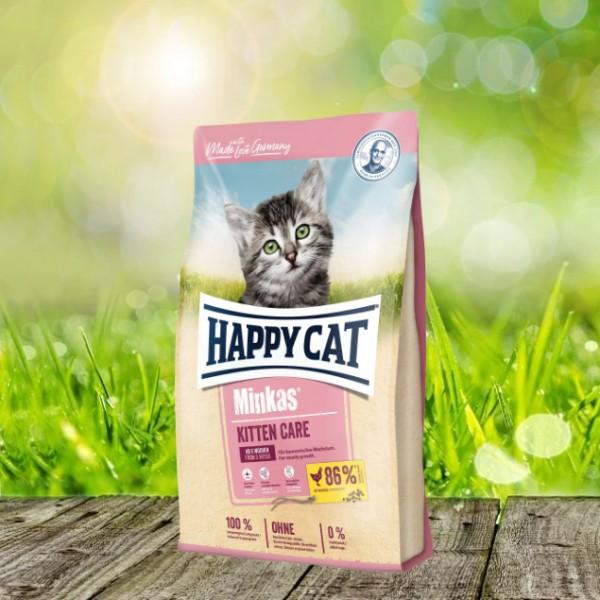 Happy Cat Minkas Kitten Care Geflügel