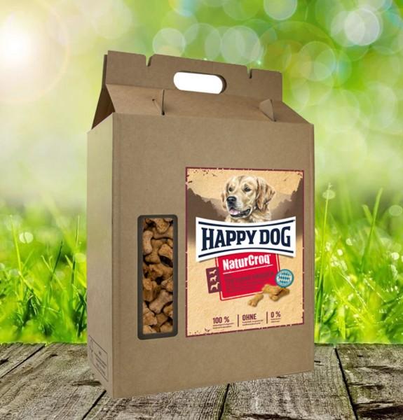Happy Dog NaturCroq Belohungssnack Mini Truthahn Knochen 5 kg