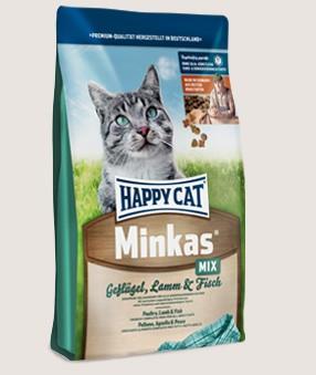 Happy Cat Minkas Mix Geflügel, Lamm und Fisch