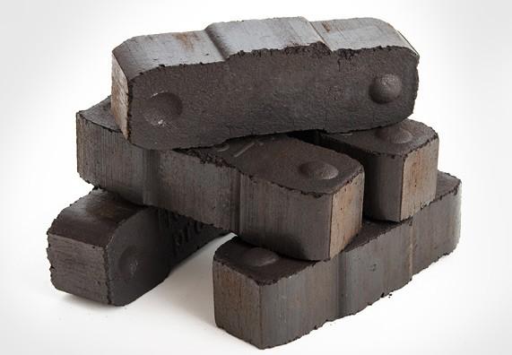 Braunkohle Brikett, Bündelkohle, Brennstoffe Kamin, Brennmaterial Kohle 25kg
