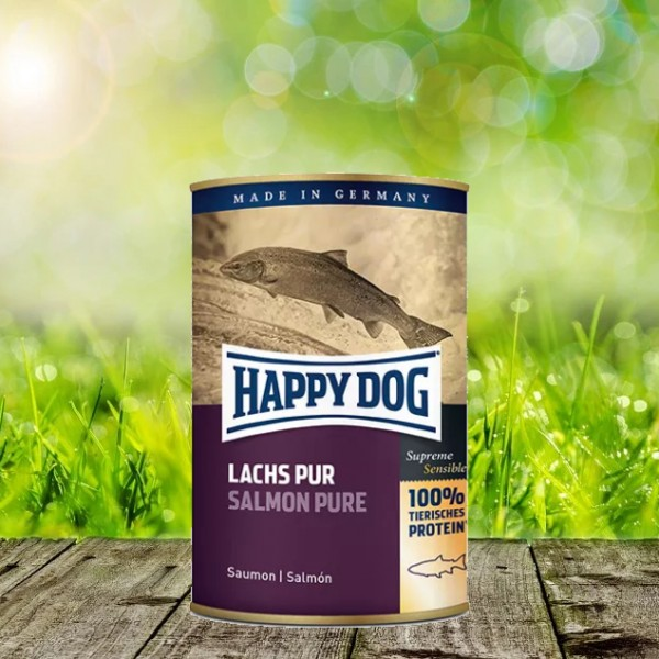 Happy Dog Dosen Lachs Pur 6x 800 Gramm