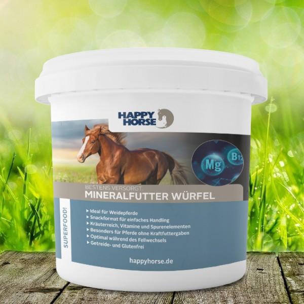 Happy Horse Superfood Mineralfutter Würfel 5 kg