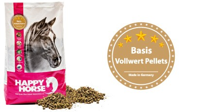 Happy Horse Basis Vollwert Pellet 14 kg