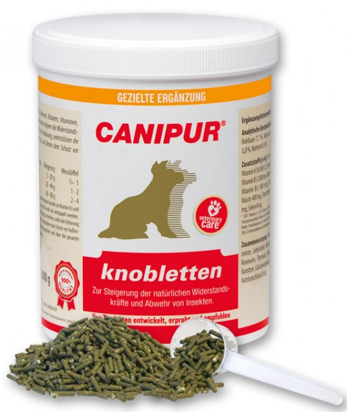 Canipur knobletten + 400g Happy Dog Pur Dose *Gratis*