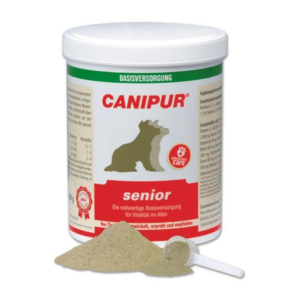 Canipur senior + 400g Happy Dog Pur Dose *Gratis*