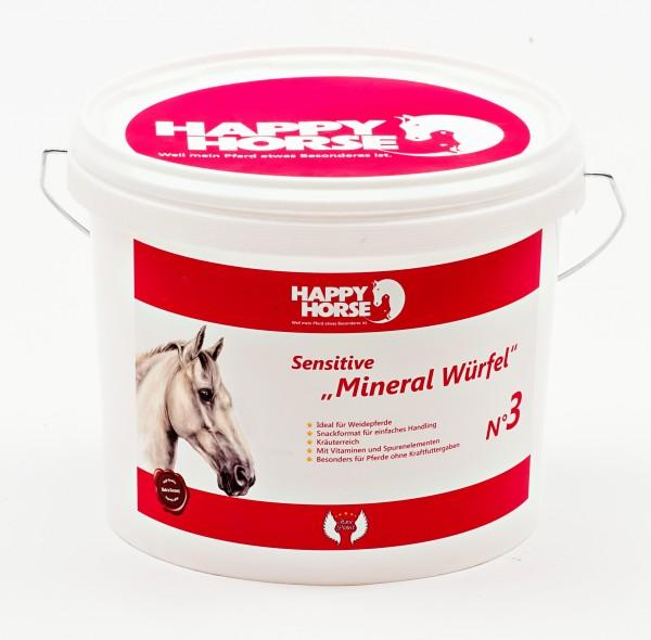 Happy Horse Sensitive Mineral Würfel 5 kg
