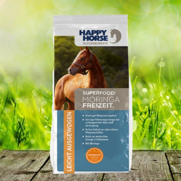 "Happy Horse Superfood ""Moringa Freizeit"" - 14 Kg"