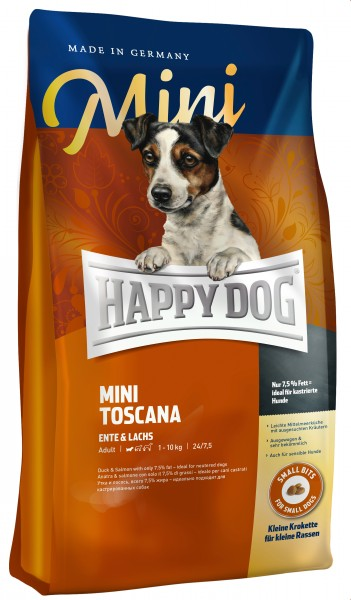 Happy Dog Mini Toscana 4 kg + 1 kg *Gratis*