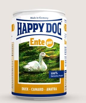 Happy Dog Dosen Ente Pur