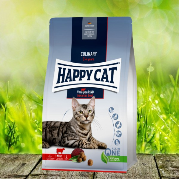 Happy Cat Culinary Adult Voralpen Rind 10 kg