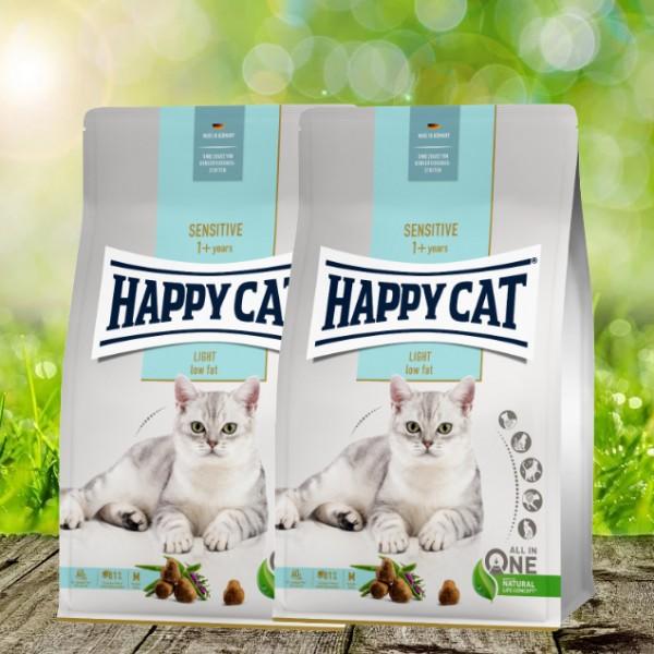 Happy Cat Sensitive Sensitive Adult Light 2 x 4 kg
