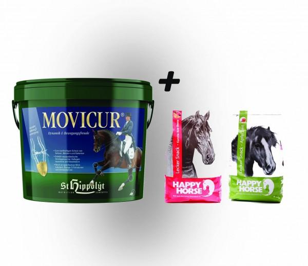 St. Hippolyt Movicur 10 kg und 2 x 1 kg Lecker Snack