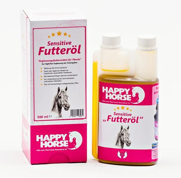 Happy Horse Sensitive Futteröl