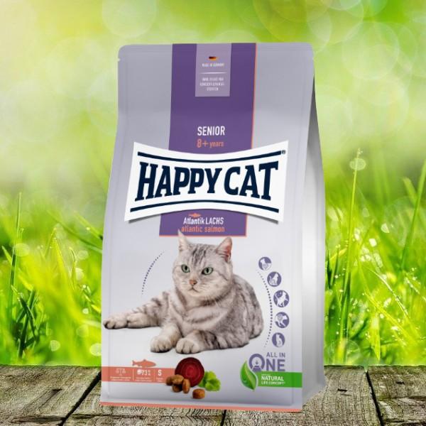 Happy Cat Senior Atlantik-Lachs 4 kg *NEU*