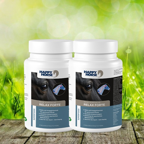Happy Horse Superfood Relax forte 2 x 1000 g