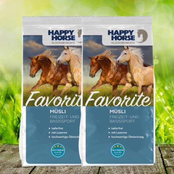 "Happy Horse ""Favorite"" *NEW* - 2 x 14 Kg"