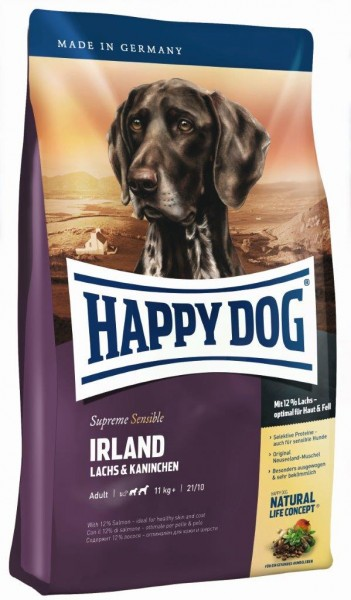 Happy Dog Supreme Sensible Irland 1 x 12,5 kg + 2 x 1 kg = 14,5 kg (Sonderaktion)