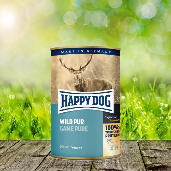 Happy Dog Dosen Wild Pur 12 x 400 Gramm