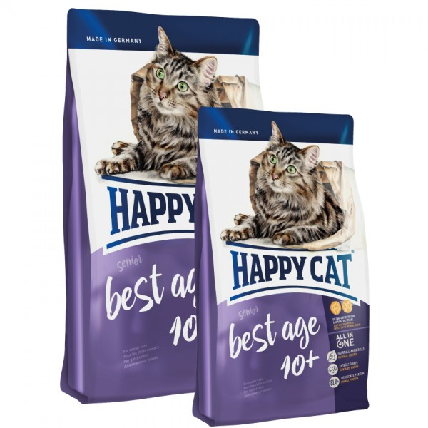 Happy Cat Best Age 10+ / 3 x 4kg