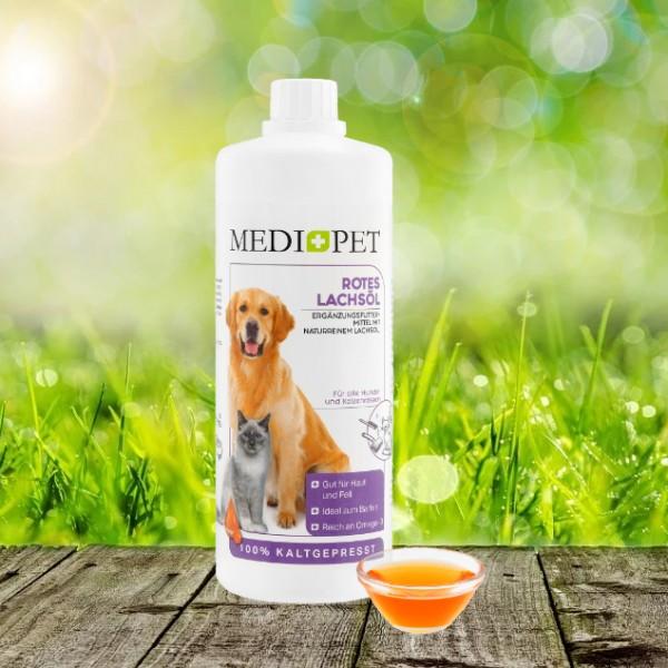 Medidog Rotes Lachsöl 1000 ml