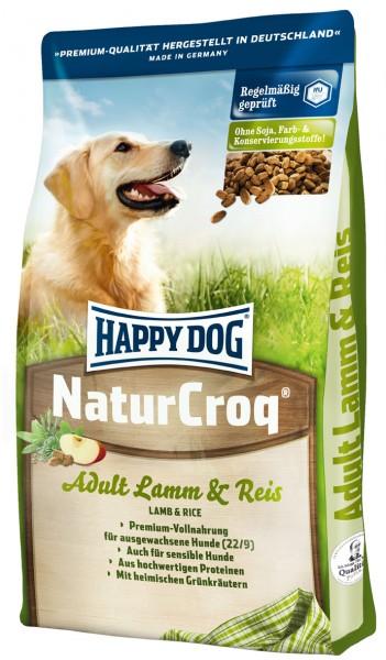 Happy Dog Natur Croq Lamm & Reis