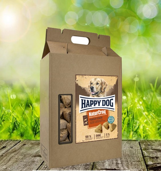 Happy Dog NaturCroq Belohungssnack Pansen Ecken 5 kg