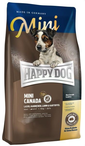 Happy Dog Mini Canada 4 kg + 1 kg *Gratis*