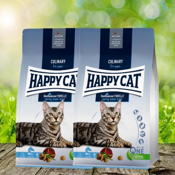 Happy Cat Culinary Adult Quellwasser Forelle 2 x 10 kg