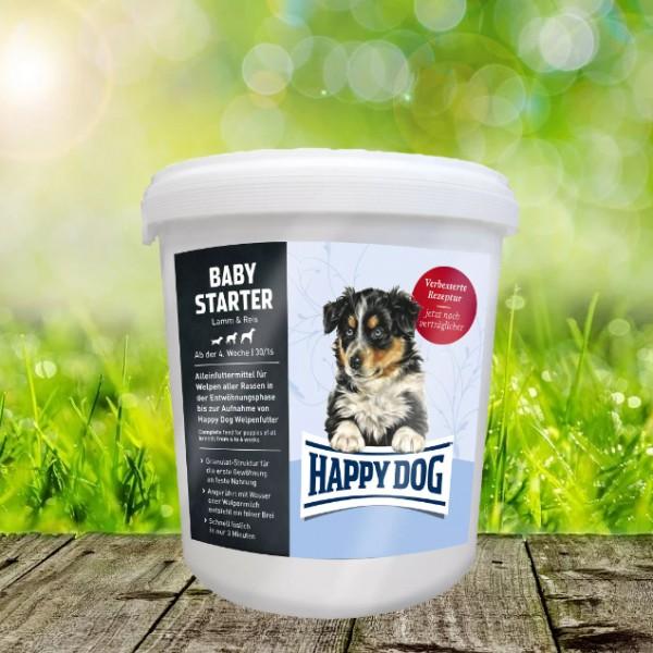 Happy Dog Baby Starter Hochwertige Granulat-Alleinnahrung für Welpen