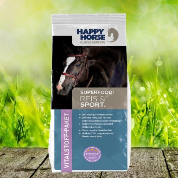 "Happy Horse Superfood ""Reis & Sport"" (Sensitive Rice) 14 kg"
