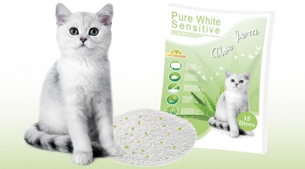 Happy Cat Sensitive Glutenfrei in verschiedenen Sorten 3 x 4 Kg + Katzenstreu Aloe Vera