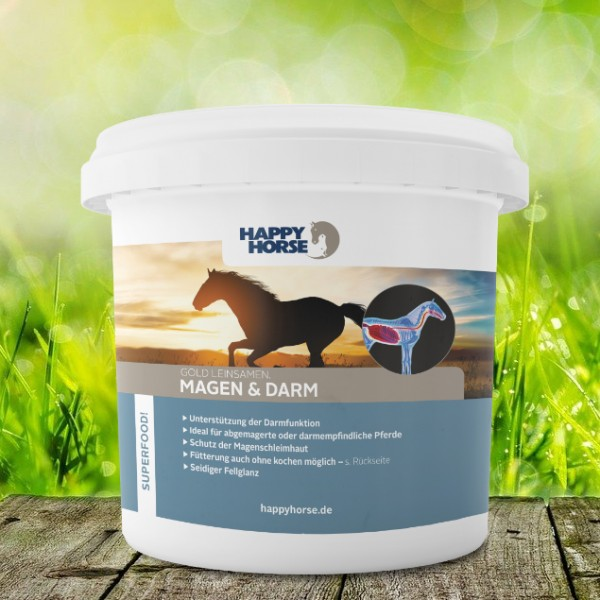 Happy Horse Superfood Magen & Darm Gold Leinsamen 5 Kg