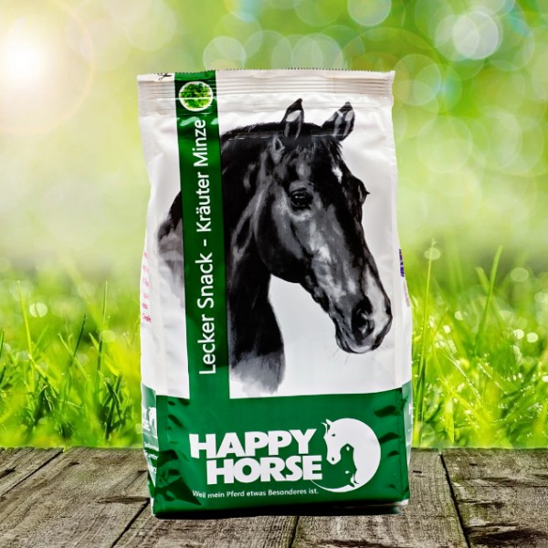 Happy Horse Lecker Snack Kräuter Minze 7 x 1 kg