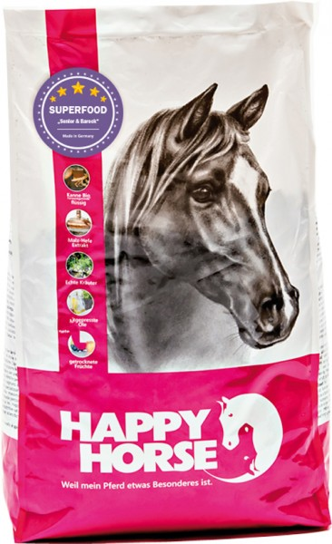 "Happy Horse Superfood ""Senior & Barock"" (Sensitive Plus)"