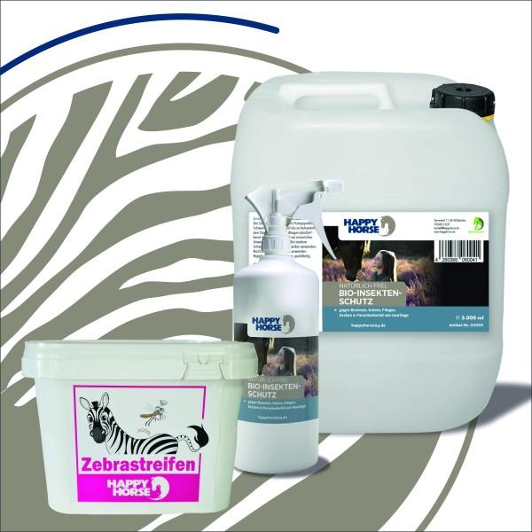 *AKTION* Bio - Insektenschutz für Pferde 3000 ml + Zebrastreifen 1 kg als Geschenk gratis dazu
