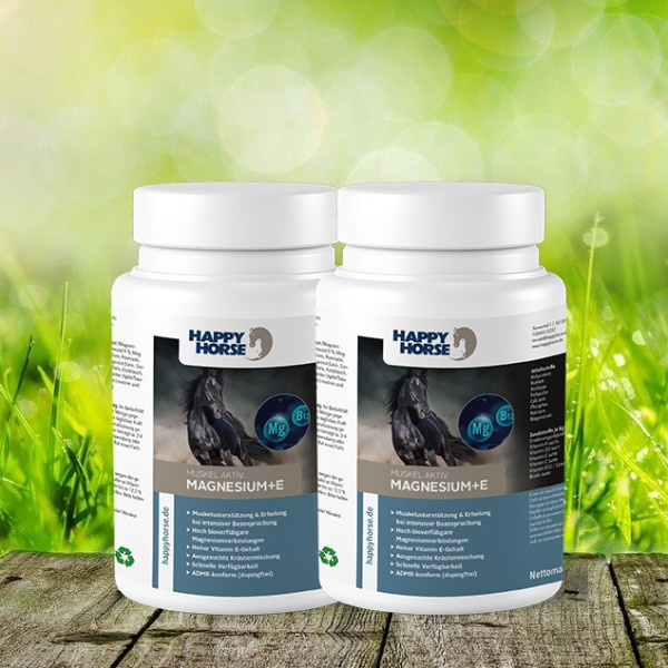 Happy Horse Sensitive - Magnesium + E 2 x 1 kg
