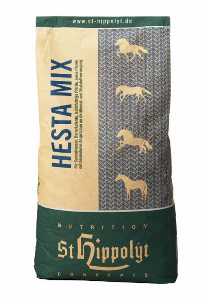 St. Hippolyt Hesta Mix LIGHT Energy 20 kg