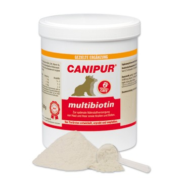 Canipur multibiotin + 400g Happy Dog Pur Dose *Gratis*