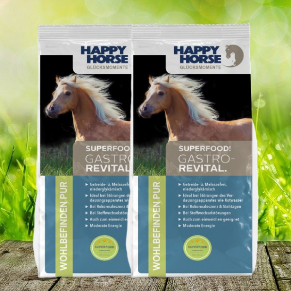 "Happy Horse Superfood ""Gastro Revital"" - 2 x 14 Kg"