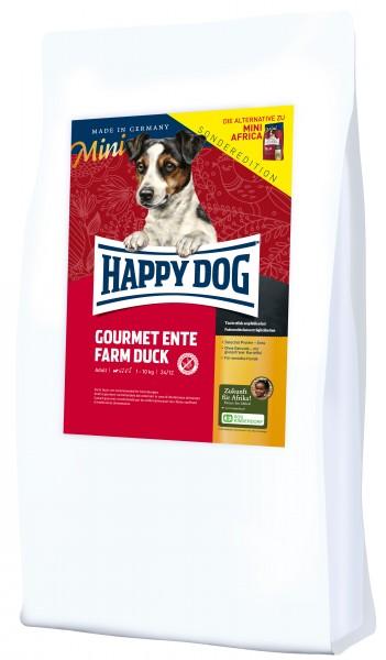 Happy Dog MINI Gourmet Ente Farm Duck *Sonderedition* - Die Alternative zu Happy Dog Mini Africa