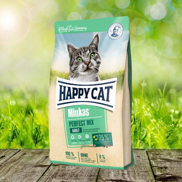 Happy Cat Minkas Perfect Mix Geflügel, Fisch & Lamm